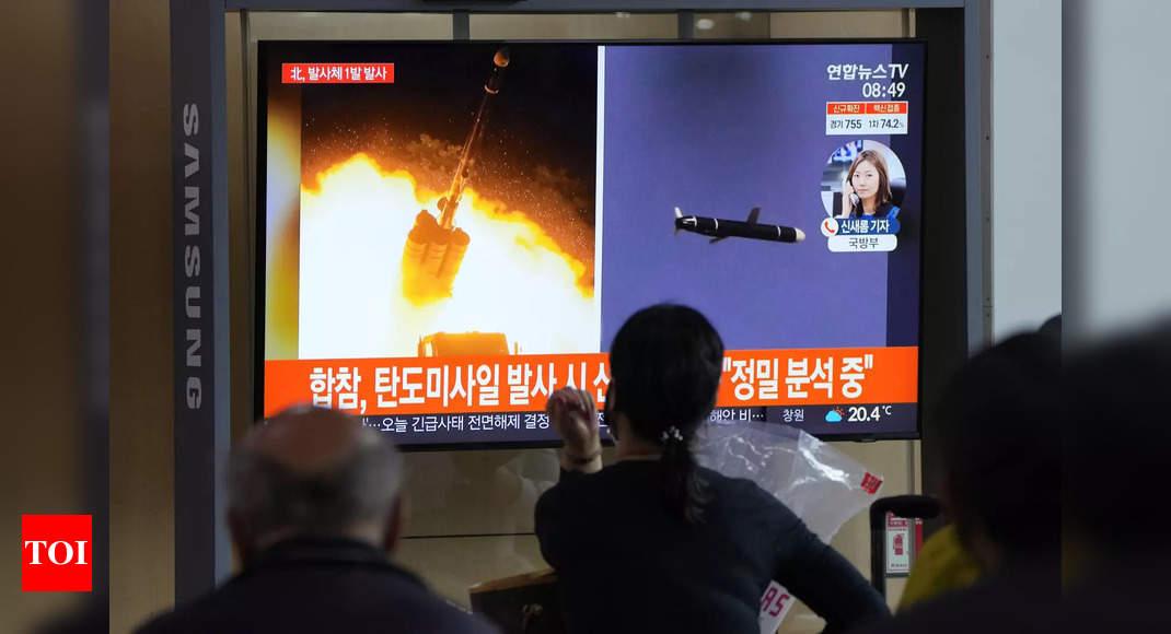 """Photo de Le missile """"hypersonique"""" de la Corée du Nord : ce que l'on sait"""