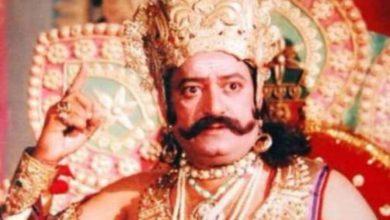 """Photo de Arvind Trivedi, célèbre """"ramayan"""", est décédé à 82 ans"""