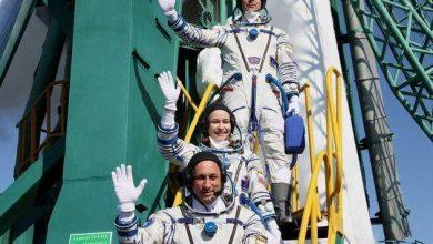 Photo de L'actrice et réalisatrice russe s'envole pour tourner son premier film dans l'espace