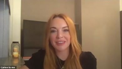 """Photo de Lindsay Lohan se souvient de la scène emblématique de """"Mean Girls"""""""