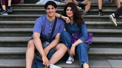 Photo de Twinkle Khanna passe du bon temps avec son fils Aarav