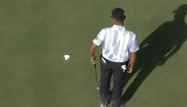Photo de Un golfeur a écopé d'une pénalité d'un coup à la CJ Cup à Vegas